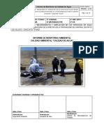 Informe de Monitoreo de Agua Chipana
