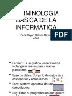 Terminologia de La Informática