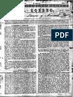 Diario El Correo, España Edicion de 30-03-1829