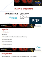 3 3 Bridgestone Moves to HANA a First and Giant Step With a Succesful BW on HANA Migration