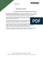 09-02-18 Atestigua Gobernadora toma de protesta de Consejo Directivo de Canacintra. C-021843