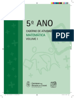 5c2ba Ano Caderno de Atividades Matemc3a1tica Vol 1