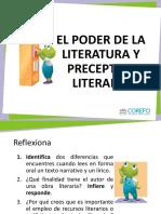 Com3s u1 Ppt El Poder de La Literatura