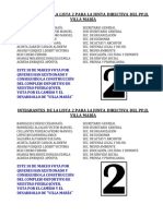 00_lista 2 Para La Junta Directiva Del Pp