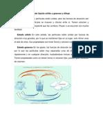 Explique El Estado Líquido Sólido y Gaseoso y Dibujo Leandro y Nelson