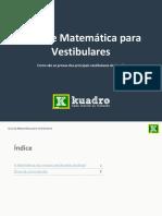 Guia Matematica Para Vestibulares