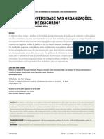 Artigo - Políticas de Diversidade Nas Organizações 2009