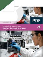 Guía Básica Programa de Doctorado Ciencia y Tecnología para la Salud