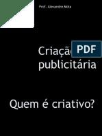 A bissociação como técnica de criação publicitária. Prof. Alexandre Mota.