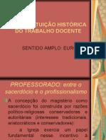 A Constituição Histórica Do TD Na Europa (1)