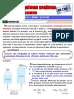 Isomeria - Módulo 1