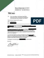 City Schools Investigation