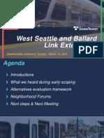 Slide deck for Wednesday Stakeholder Advisory Group meeting