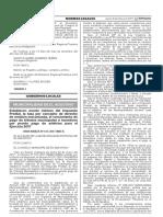ORDENANZA Nº 613 MDEA 2017 Establecen Monto Minimo Del Impuesto Predial La Tasa Por Co