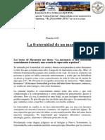 LA FRATERNIDAD DE UN MASON.pdf