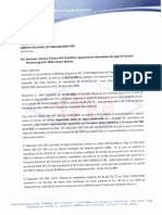 Carta Sup-054-10 a Gnf Pago Pat Warnes