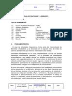 Guía de Oratoria.
