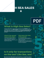 High Sea Sales