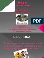presentacion disciplina en el aula
