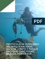 2013 Protocolo Monitoreo Loreto Cabo Pulmo COBI