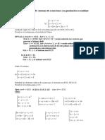 Sistemas de Ecuaciones - Ejercicios Algunos Con Respuesta
