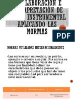 Elaboración e Interpretación de Plano Instrumental Aplicando Las Normas