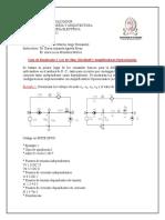 Guia de Simulacion Uno. Ley de Ohm, Kirchhoff y Amplificadores Operacionales