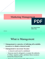 Marketing Management- Muscat