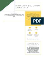 Extras Evaluaciónunam 2018