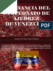 Armando Nerio Hanoi Guédez Rodríguez - Relevancia del Campeonato de Ajedrez de Venezuela