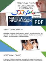 Derecho Al Olvido vs Derecho a La Información (1)
