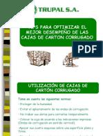 Recomendaciones de Manipuleo DE CAJAS DE CARTON