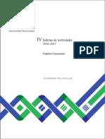 IV Informe Final