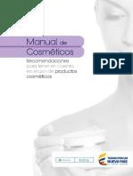 Manual de Cosmeticos Recomendaciones de Sus Usos