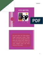 Pointer Lux Meter