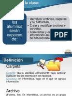 1-1-Clase 2 -Administracion y Organizacion de Archivos y Carpetas