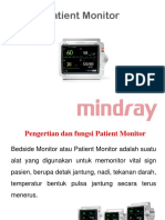 278484546 Patient Monitor Mindray Ppt