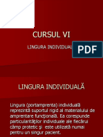 LINGURA INDIVIDUALA