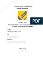 Derecho Perfil de Tesisi Karem Familias Sustitutas Transitorias 2017