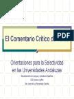 Comentarios criticos de un texto.pdf