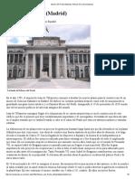 Museo Del Prado (Madrid). Artículo de La Enciclopedia