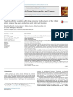 Analysis of the Variables Affecting Outcome in Fractures of the Tibial