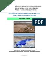 Informe - Aplicacion Modelo Hec Ras - Final