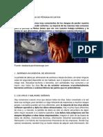 Principales Causas de Pérdida de Datos