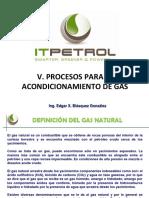 Manejo y Acondicionamiento Del Gas.
