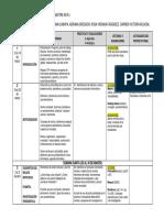 Cronograma Periodismo-I  Período lectivo 2018-I