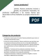 DESARROLLO PRODUCTOS