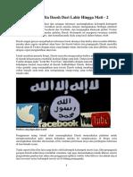Propaganda Media Daesh Dari Lahir Hingga Mati 2