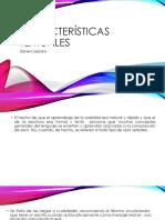 Características textuales