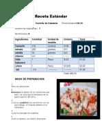 Ceviche de Camaron